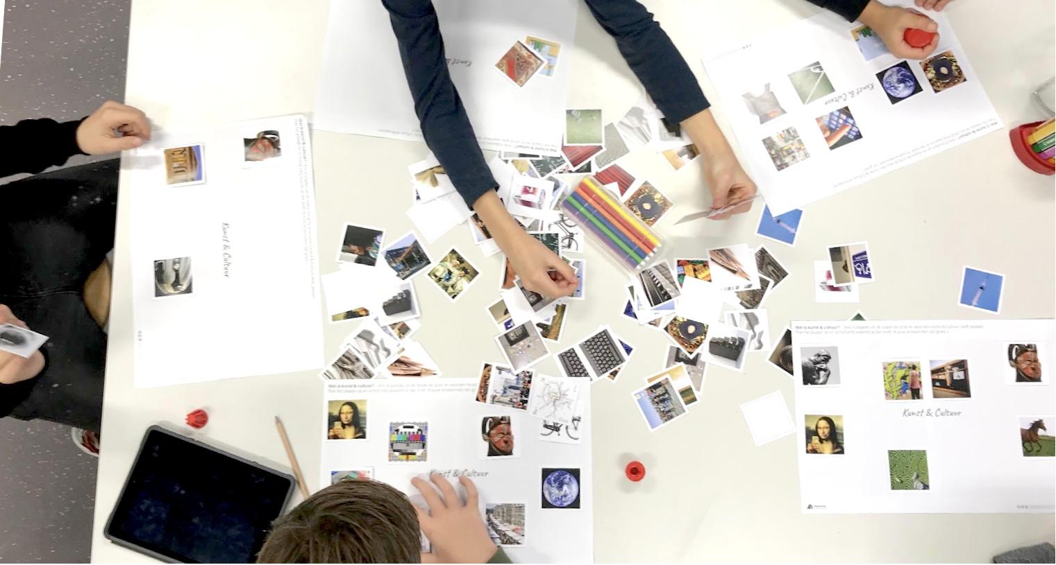 Onderzoek met leerlingen naar de beleving van cultuur