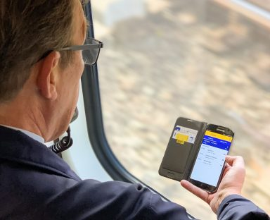 NS conducteur met app
